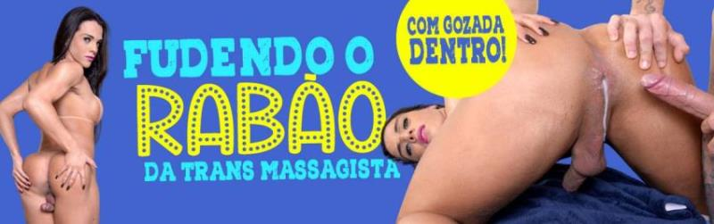 Avantajadas.com.br: Melyna Merli - Cliente fudeo o cu da travesti massagista [FullHD 1080p] (Transsexuals)