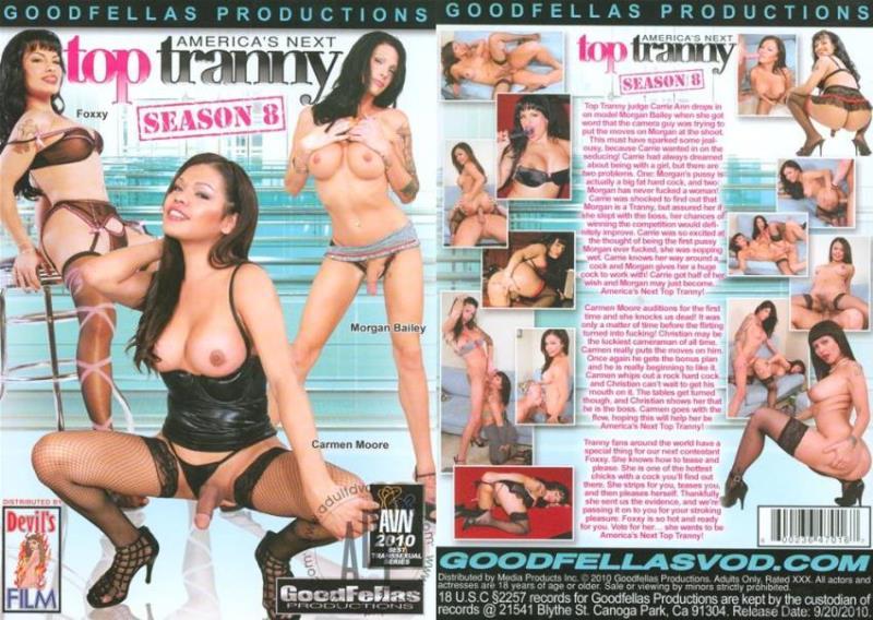 Carrie Ann, Morgan Bailey, Foxxy, Carmen Moore - Americas Next Top Tranny [SD/404p/1018.98 Mb] GoodFellas Productions