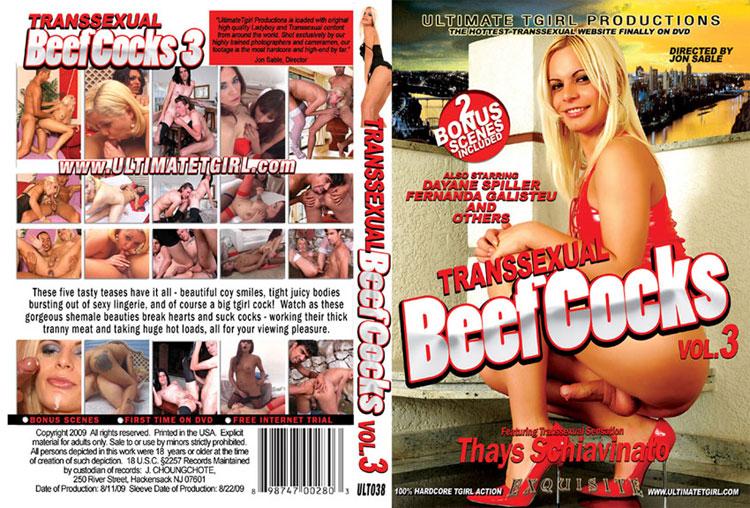 Ultimate Tgirl - Thays Schiavinato, Fernanda Galisteu, Dayne Spiller - Transsexual Beef Cocks #3 (432p/SD)