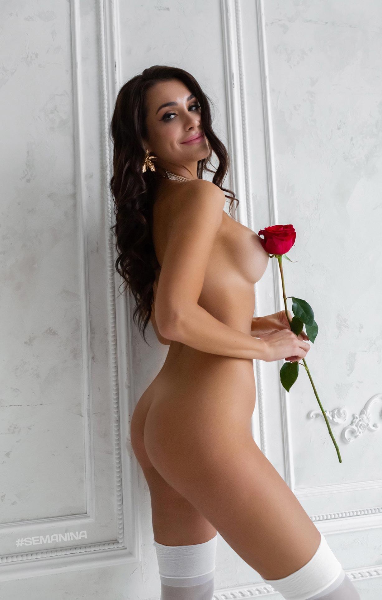 красная роза для Виктории / фото 12