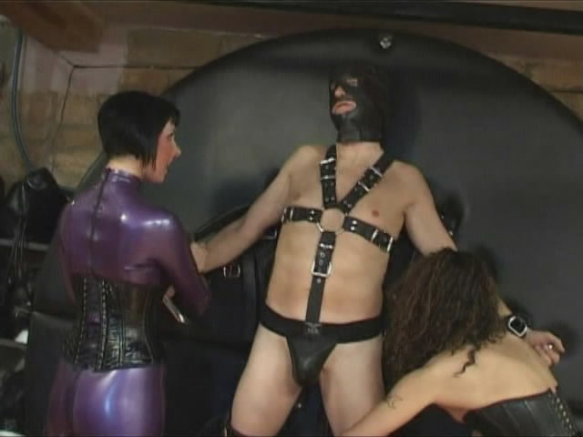 GoddessOfSubmission.com: Amateurs - Having Fun With Two Slaves [SD 480p] (BDSM)