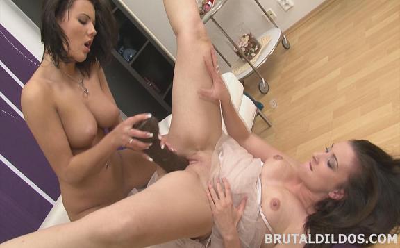 BrutalDildos.com - Vanessa And Jessica - Brutal Dildos [FullHD 1080p]