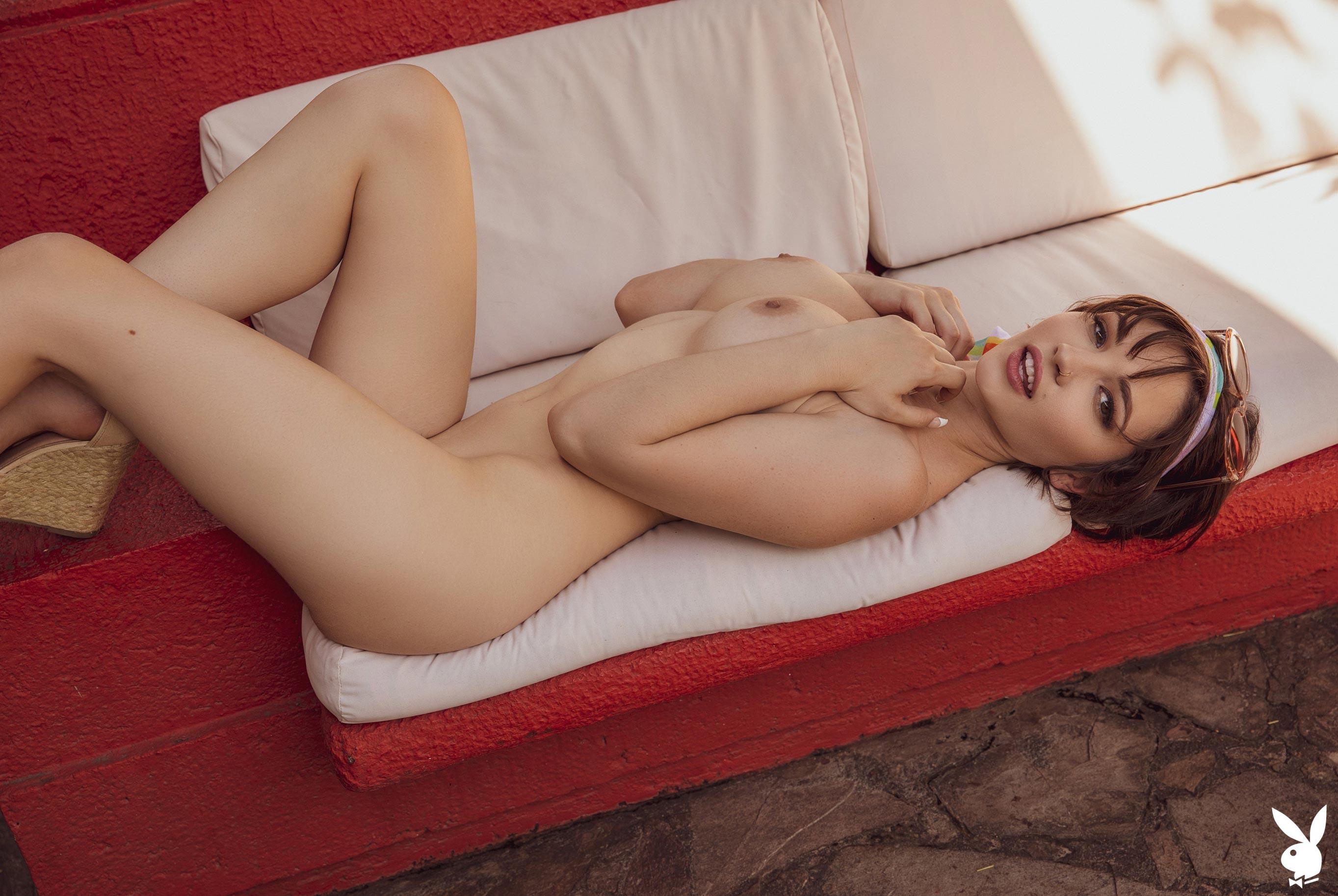 эротическая модель Джей Мари совмещает работу и отдых в Мексике / фото 10