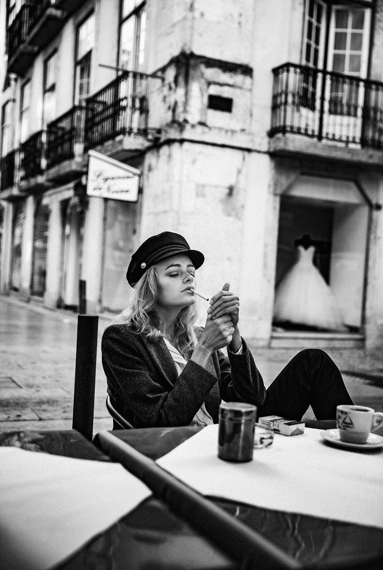 Яна Нагорняк гуляет по осеннему Лиссабону / фото 02