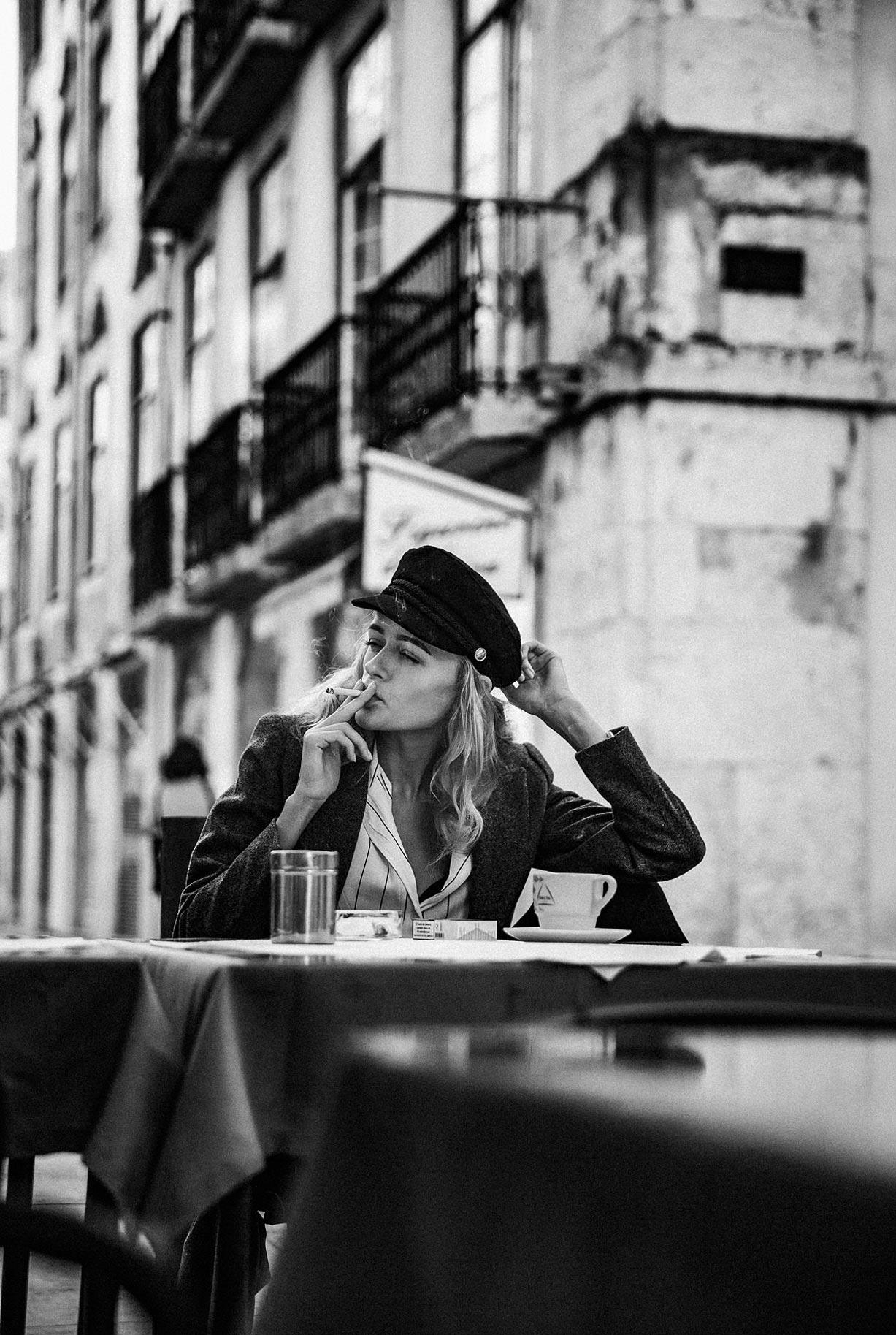 Яна Нагорняк гуляет по осеннему Лиссабону / фото 03
