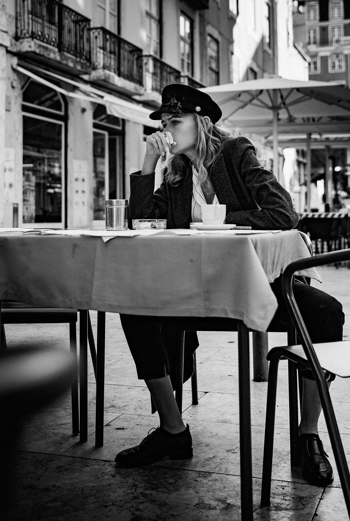Яна Нагорняк гуляет по осеннему Лиссабону / фото 04