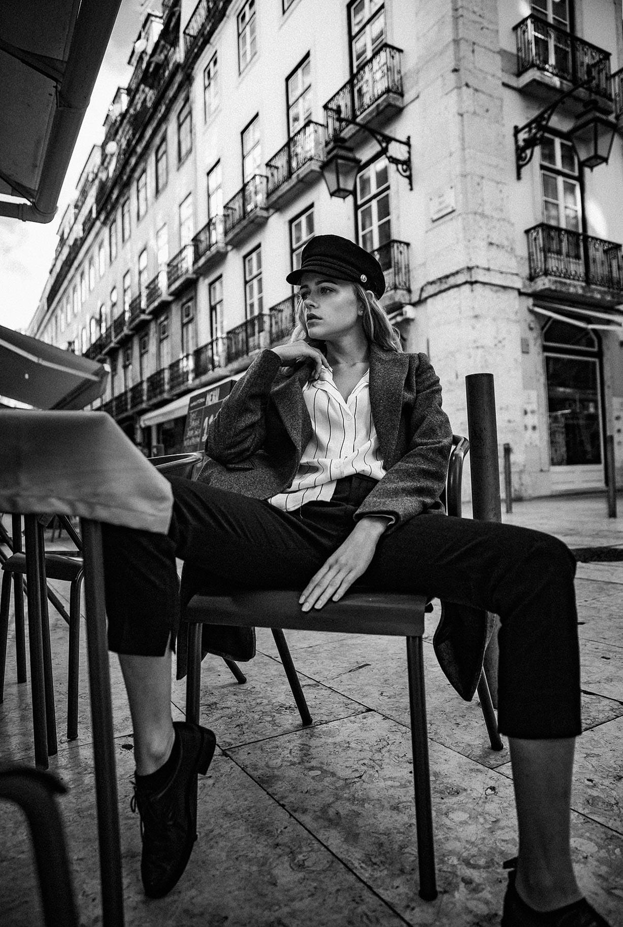 Яна Нагорняк гуляет по осеннему Лиссабону / фото 05