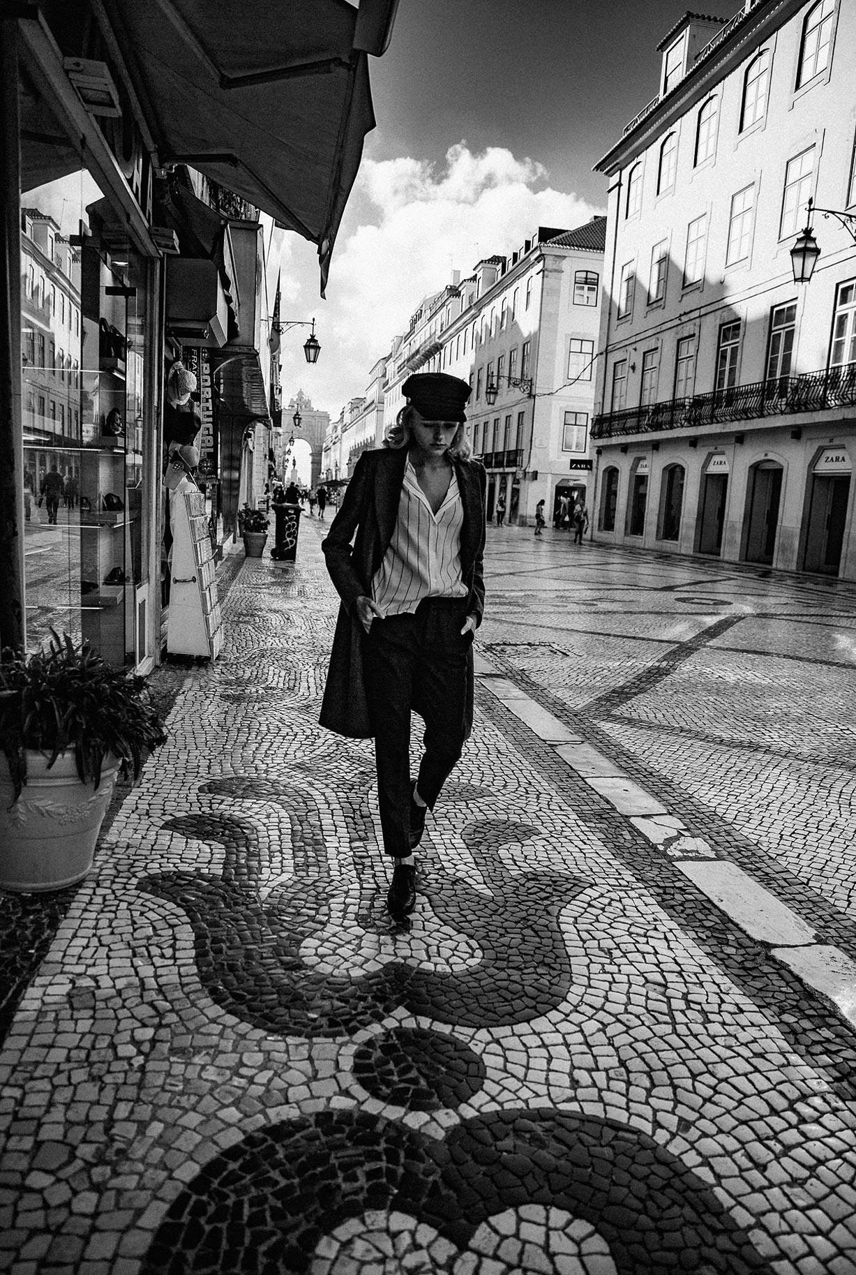 Яна Нагорняк гуляет по осеннему Лиссабону / фото 07