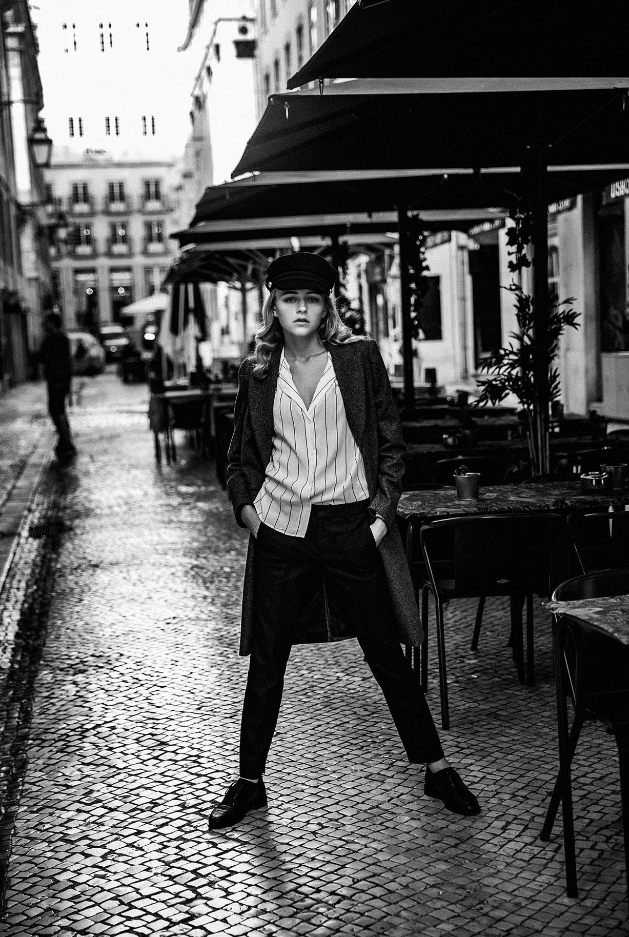 Яна Нагорняк гуляет по осеннему Лиссабону / фото 09