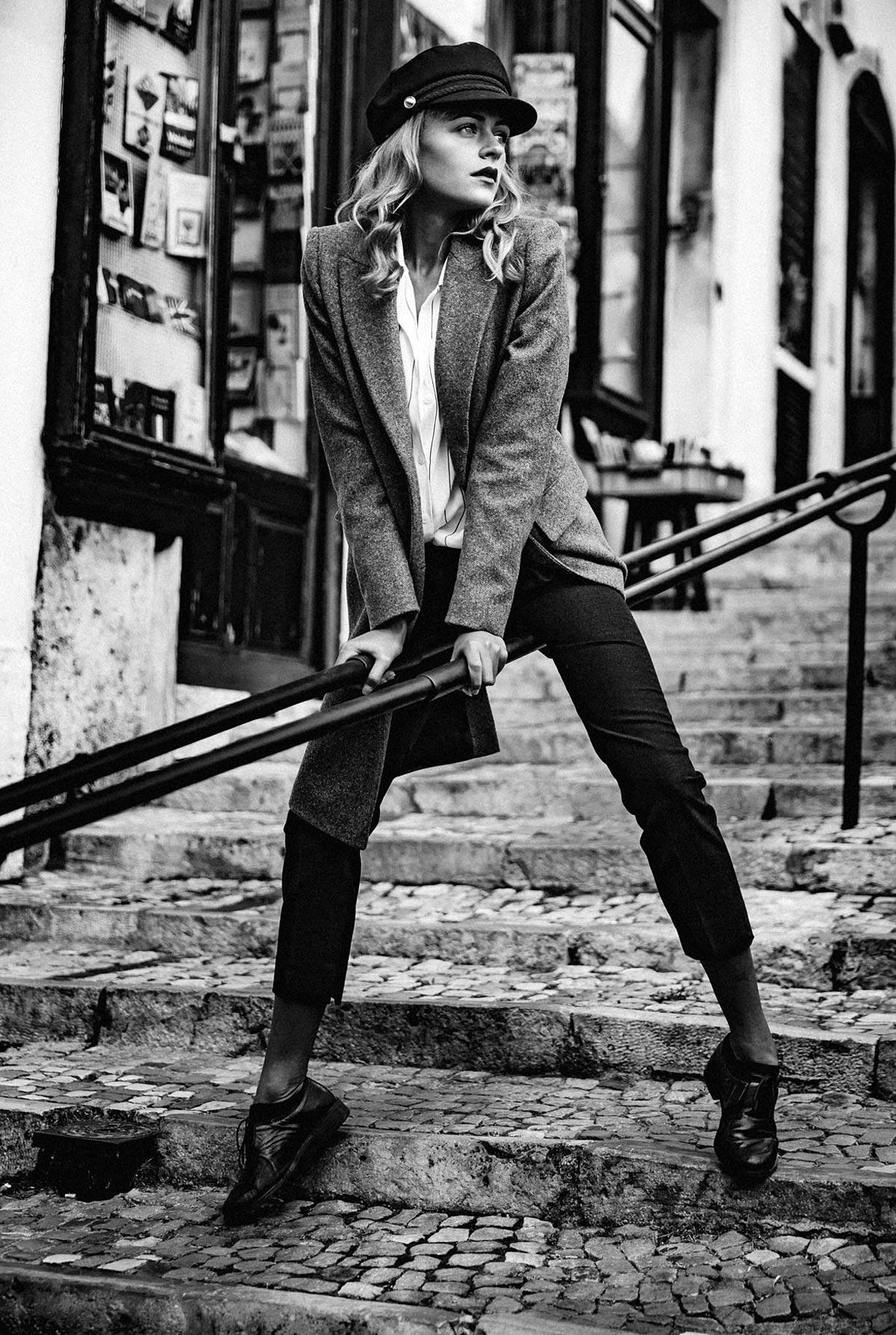 Яна Нагорняк гуляет по осеннему Лиссабону / фото 14