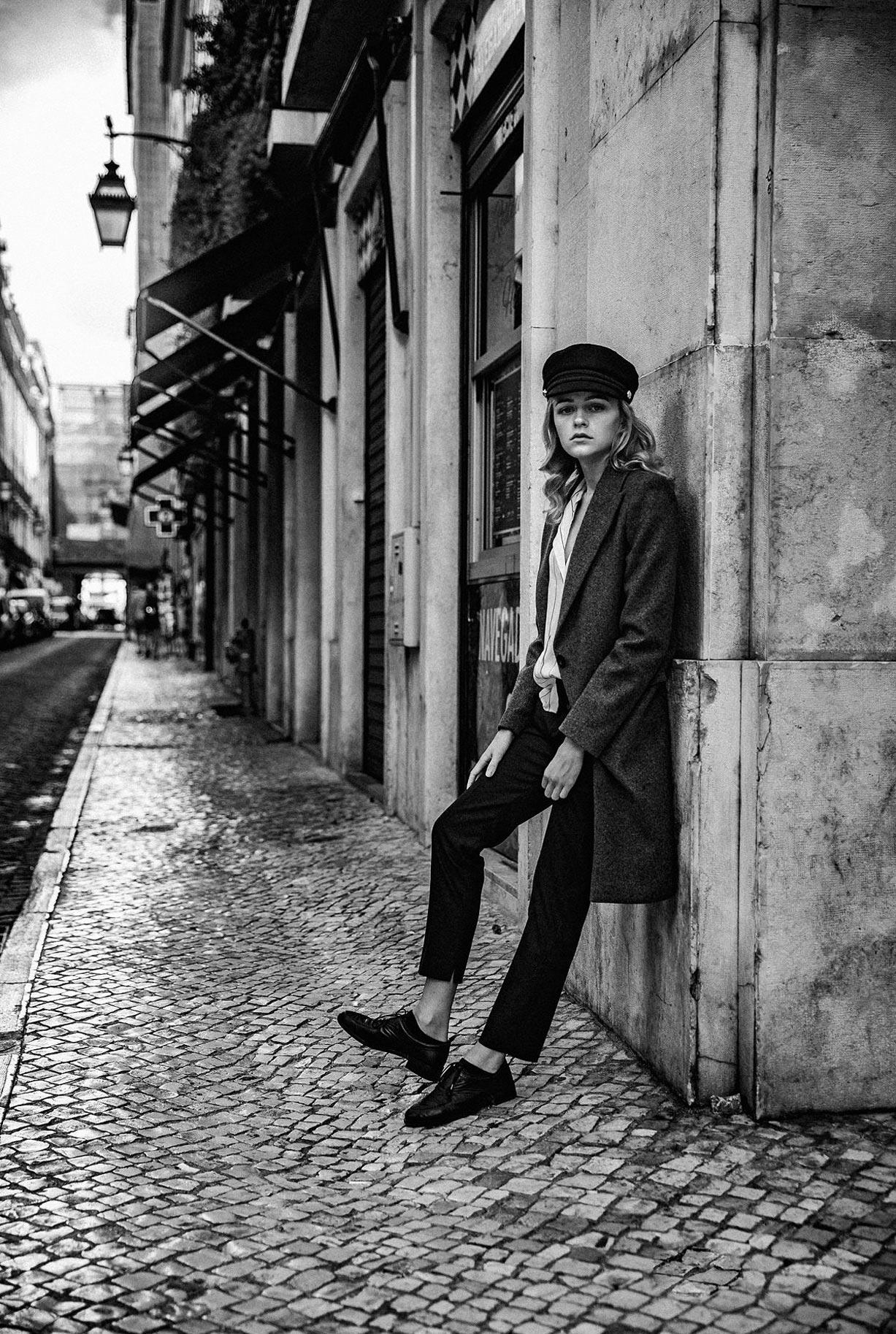 Яна Нагорняк гуляет по осеннему Лиссабону / фото 17
