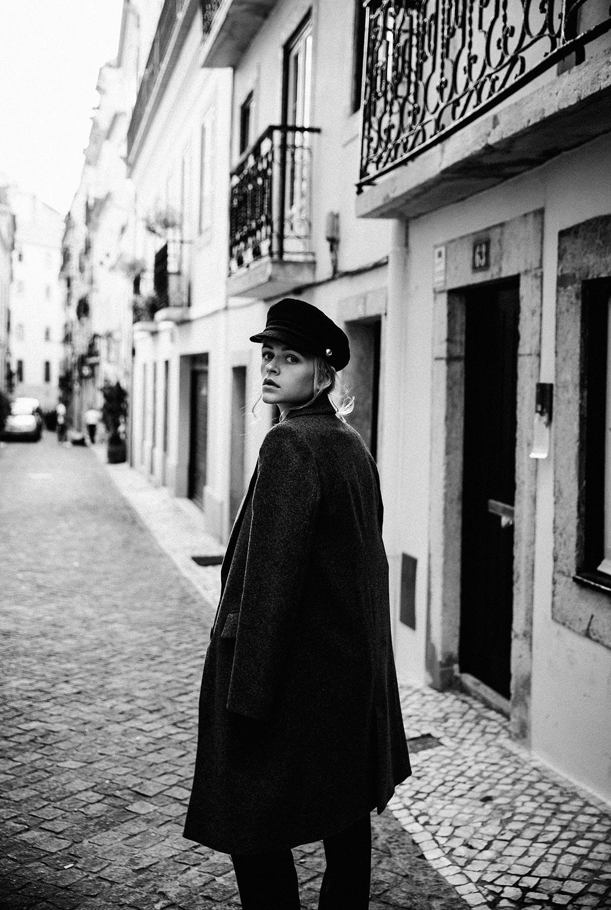 Яна Нагорняк гуляет по осеннему Лиссабону / фото 18