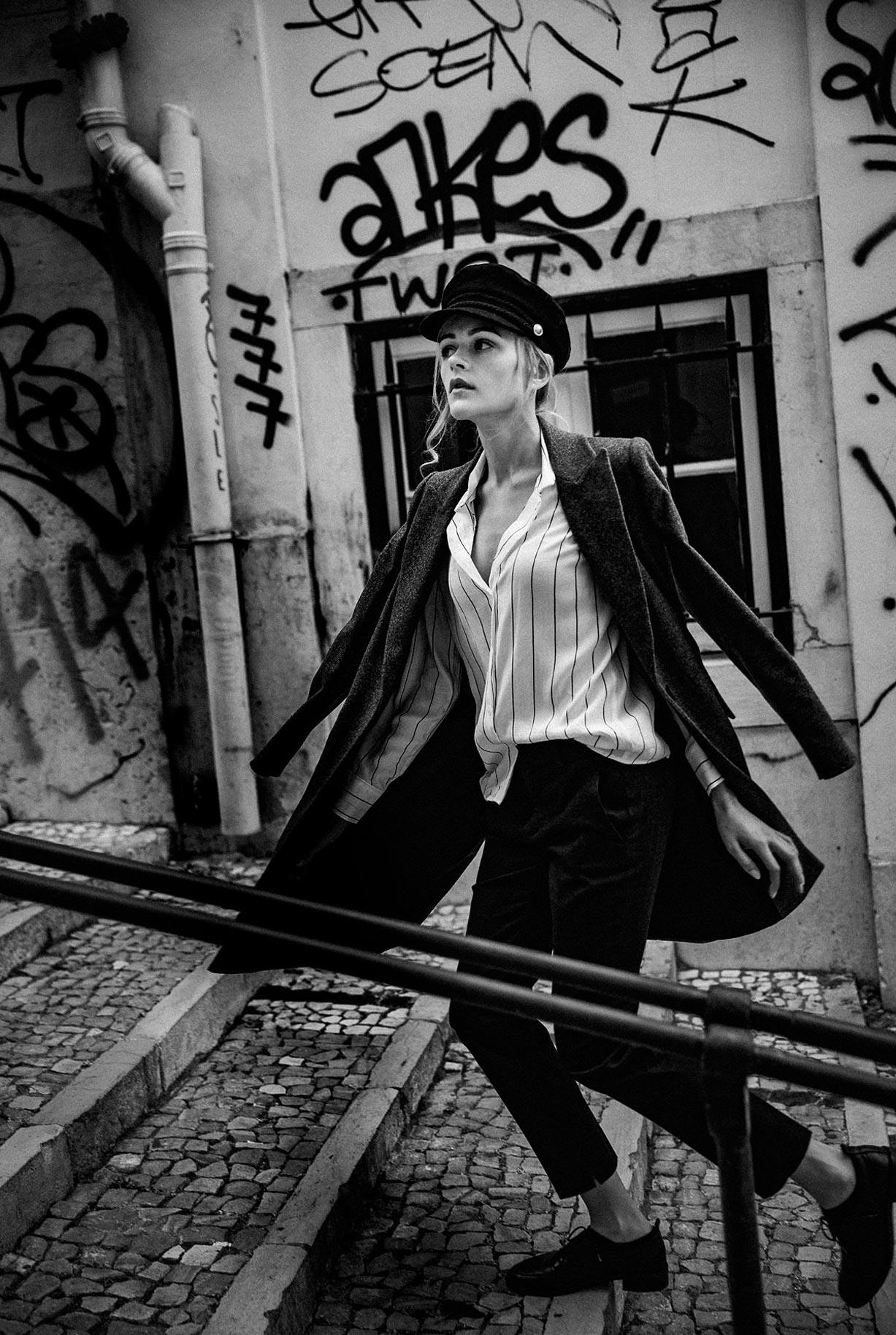 Яна Нагорняк гуляет по осеннему Лиссабону / фото 20