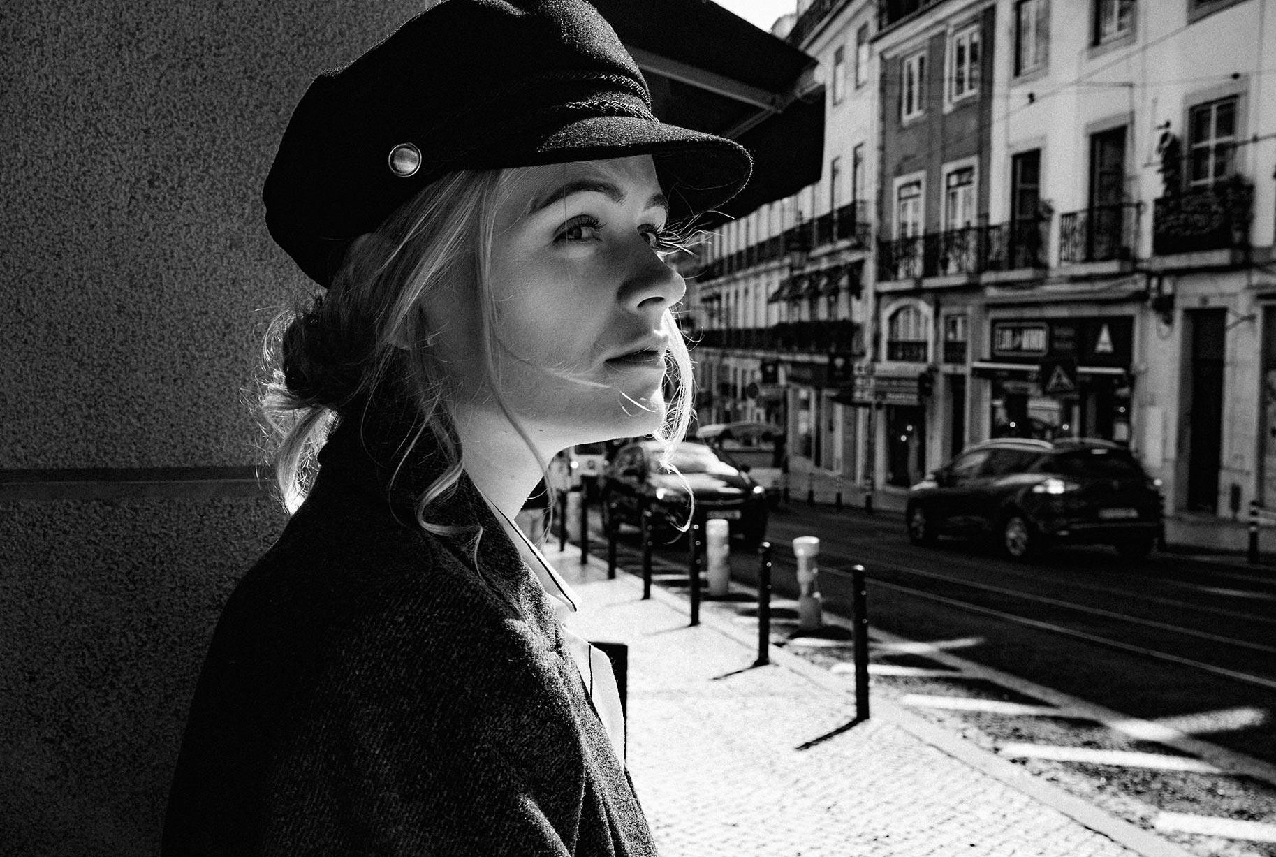Яна Нагорняк гуляет по осеннему Лиссабону / фото 21