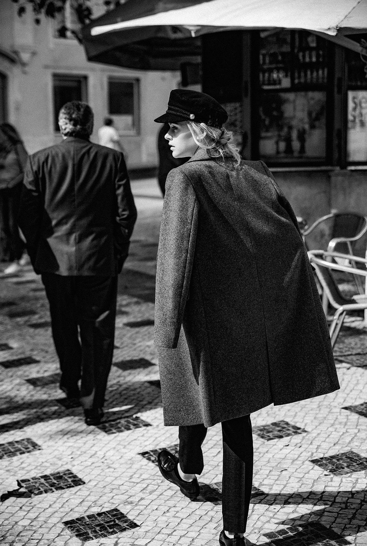 Яна Нагорняк гуляет по осеннему Лиссабону / фото 24