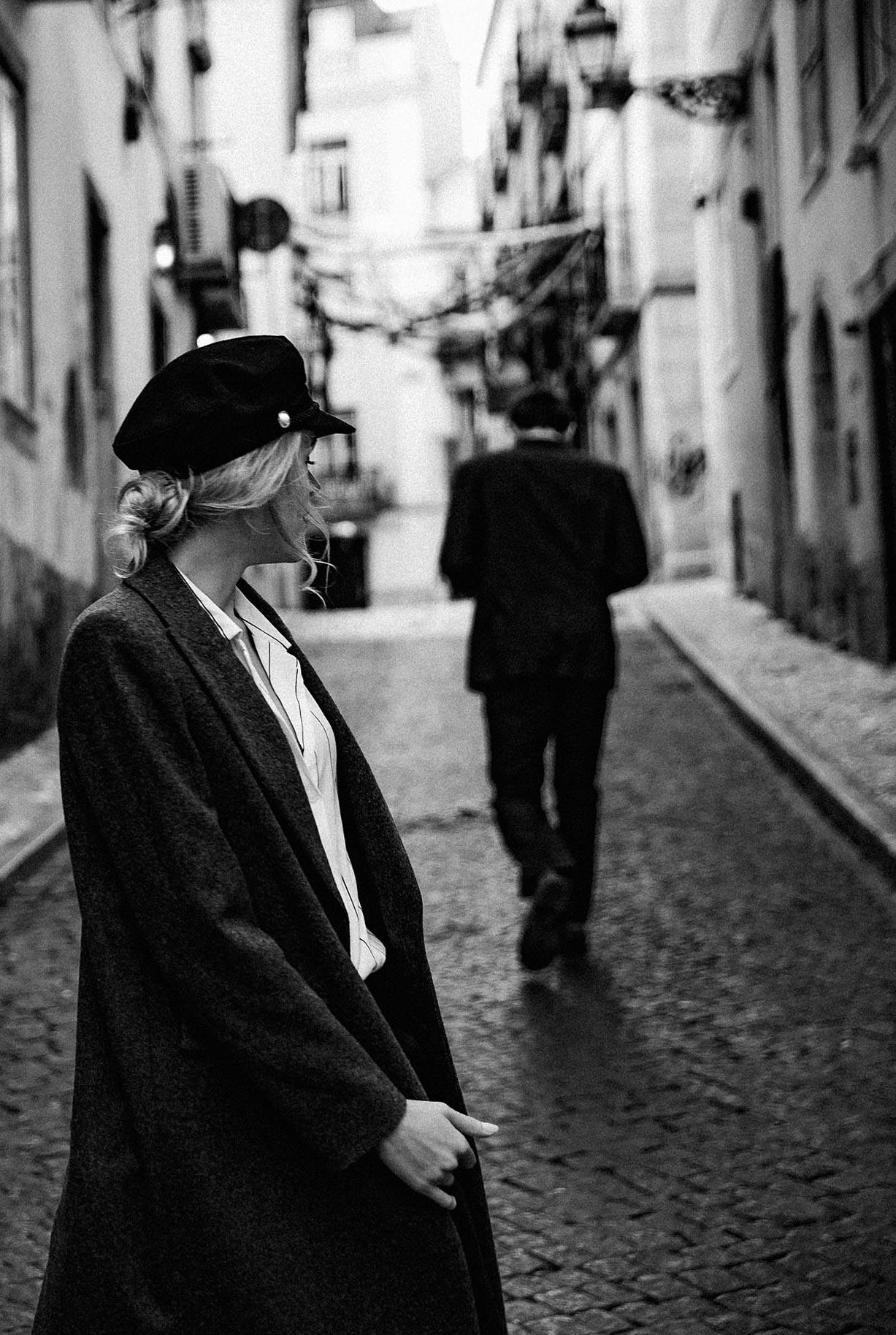 Яна Нагорняк гуляет по осеннему Лиссабону / фото 27