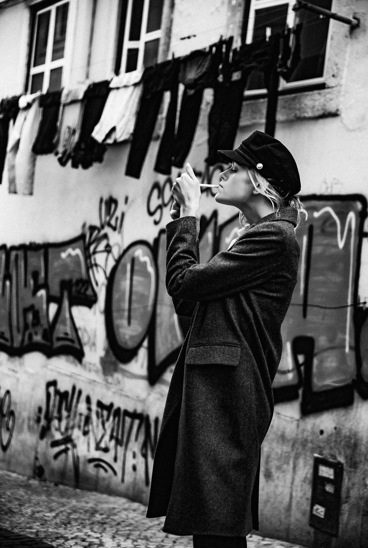 Яна Нагорняк гуляет по осеннему Лиссабону / фото 28