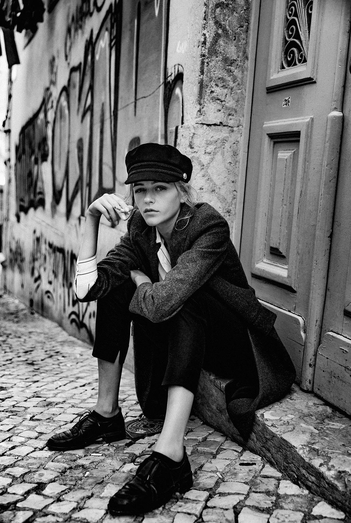 Яна Нагорняк гуляет по осеннему Лиссабону / фото 29
