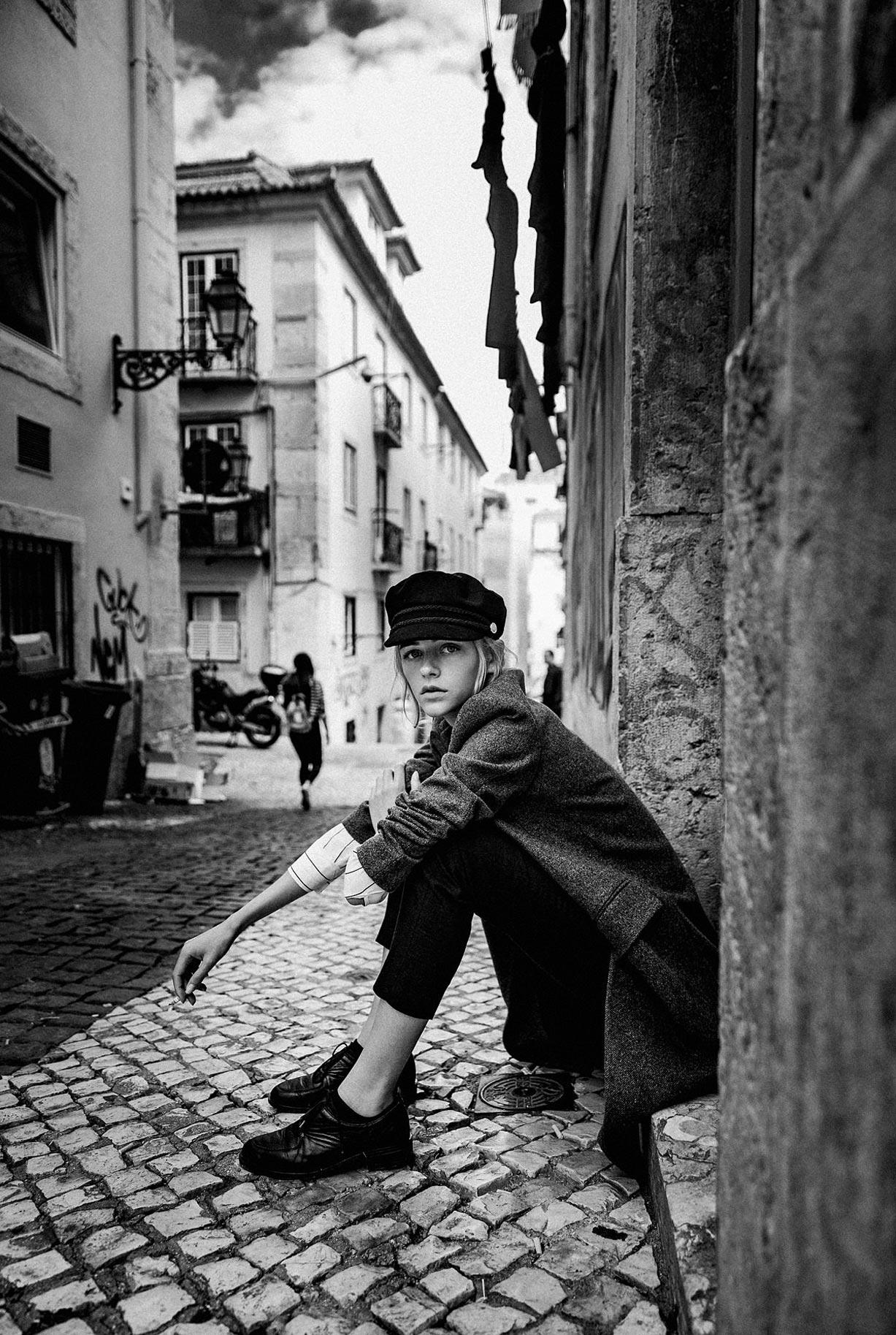 Яна Нагорняк гуляет по осеннему Лиссабону / фото 30