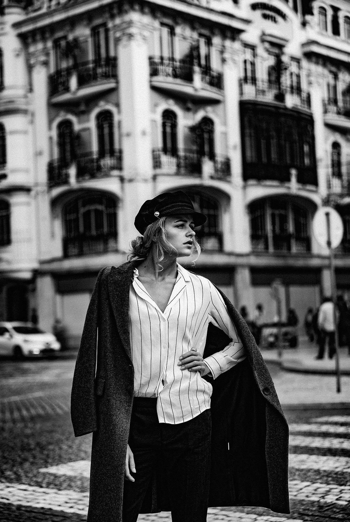Яна Нагорняк гуляет по осеннему Лиссабону / фото 34