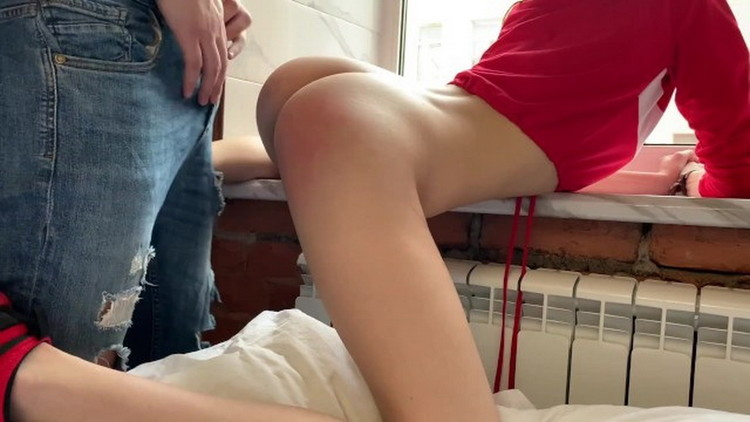 Cate Bieber ~ CUM INSIDE Stepsister spanked hard in front of neighbours ~ Porn ~ FullHD 1080p