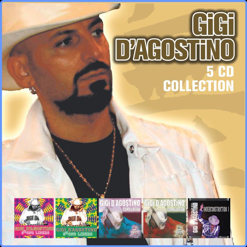 Gigi D'Agostino - 5 CD Collection (Album, ZYX Music, 2015) FLAC LossLess