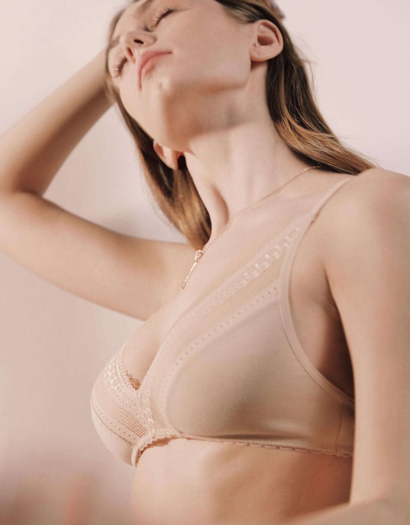 Каролина Жих в нижнем белье модного бренда Conte, сезон весна-лето 2021 / фото 16