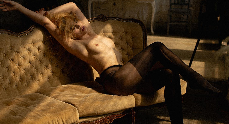 сексуальная фотомодель Эллина Мюллер