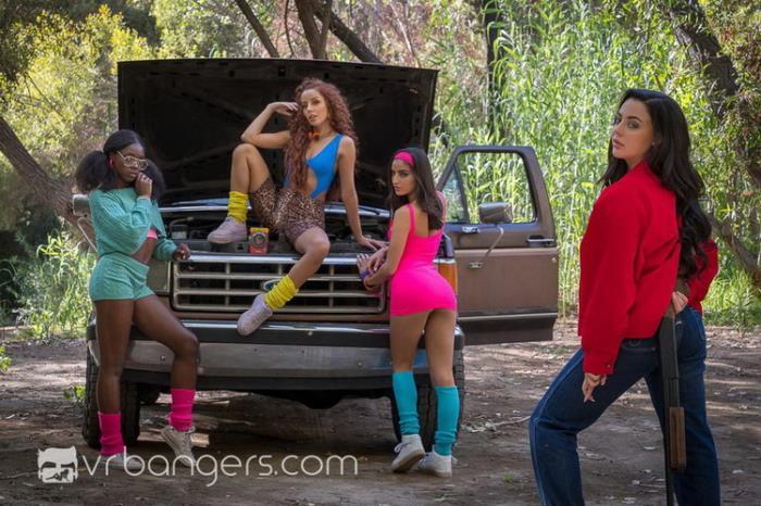 VRBangers.com - Ana Foxxx, Emily Willis, Vanna Bardot, Whitney Wright