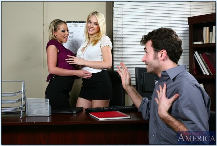 NaughtyOffice.com / NaughtyAmerica.com - Kagney Linn Karter and Shawna Lenee