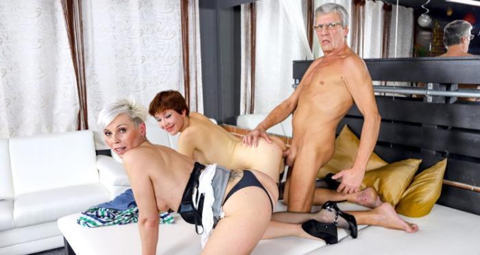 GrandParentsX.com - Amber Deep, Kathy White