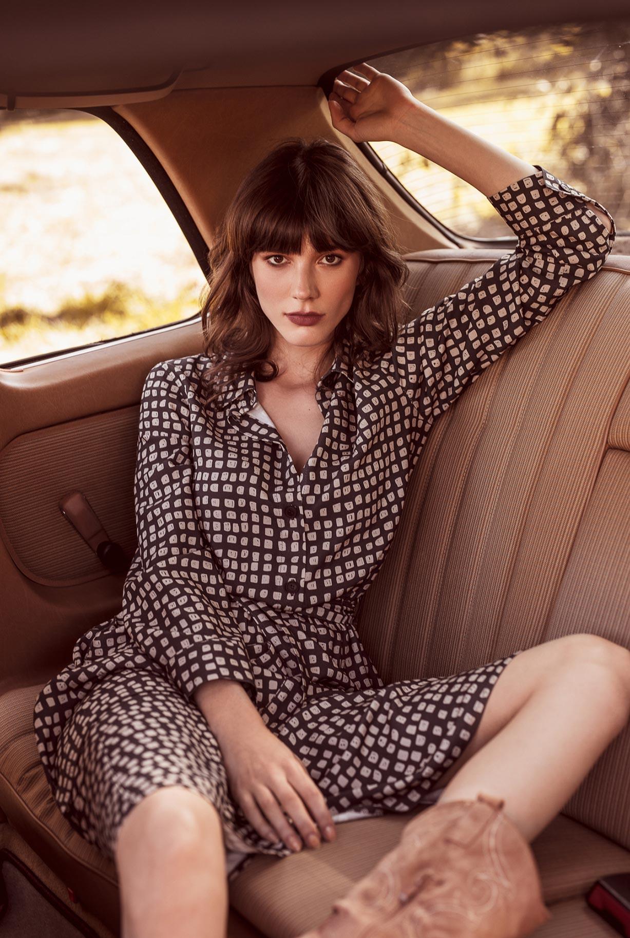 рекламная кампания женской одежды модного бренда So Me Len Welna / фото 02