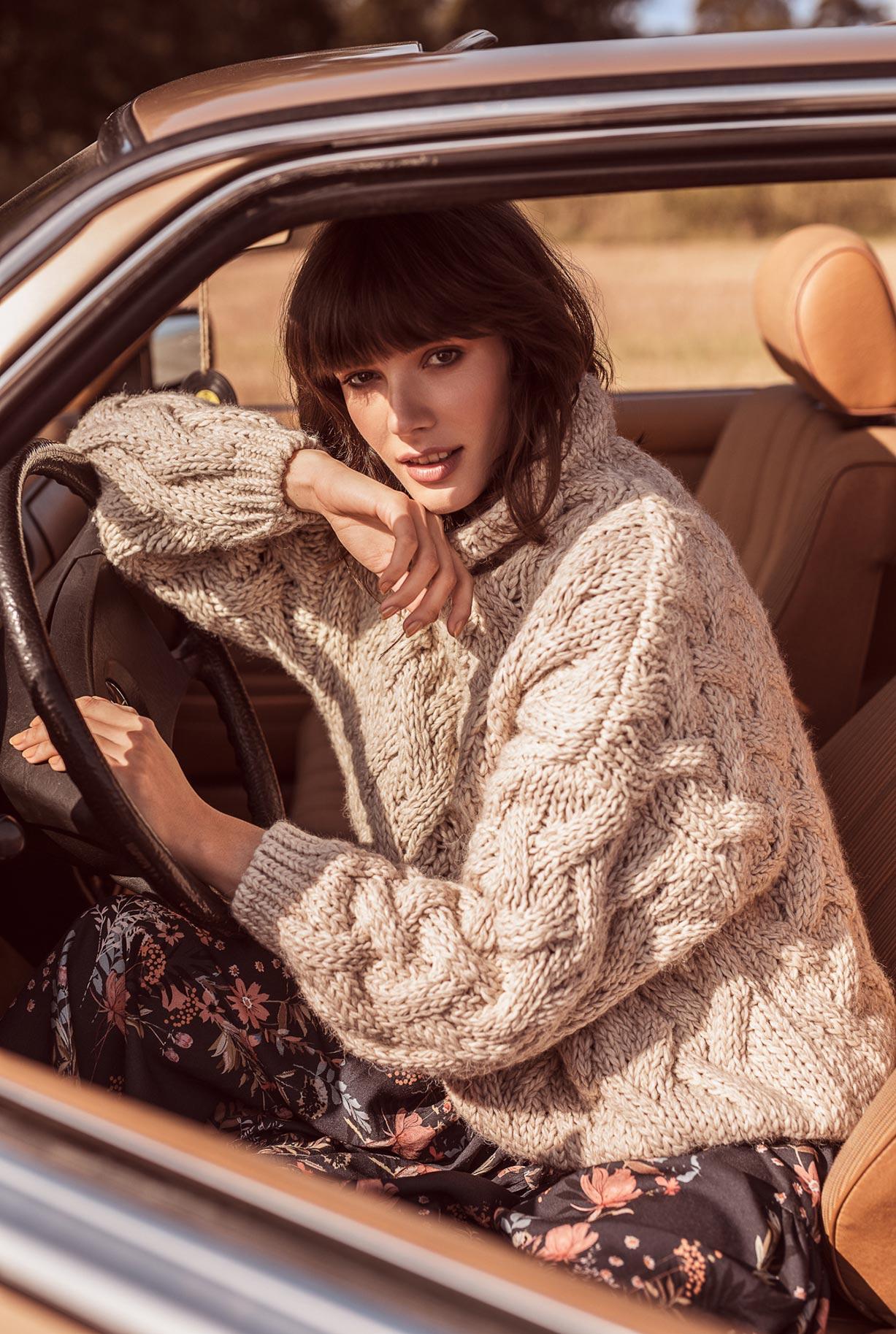 рекламная кампания женской одежды модного бренда So Me Len Welna / фото 03