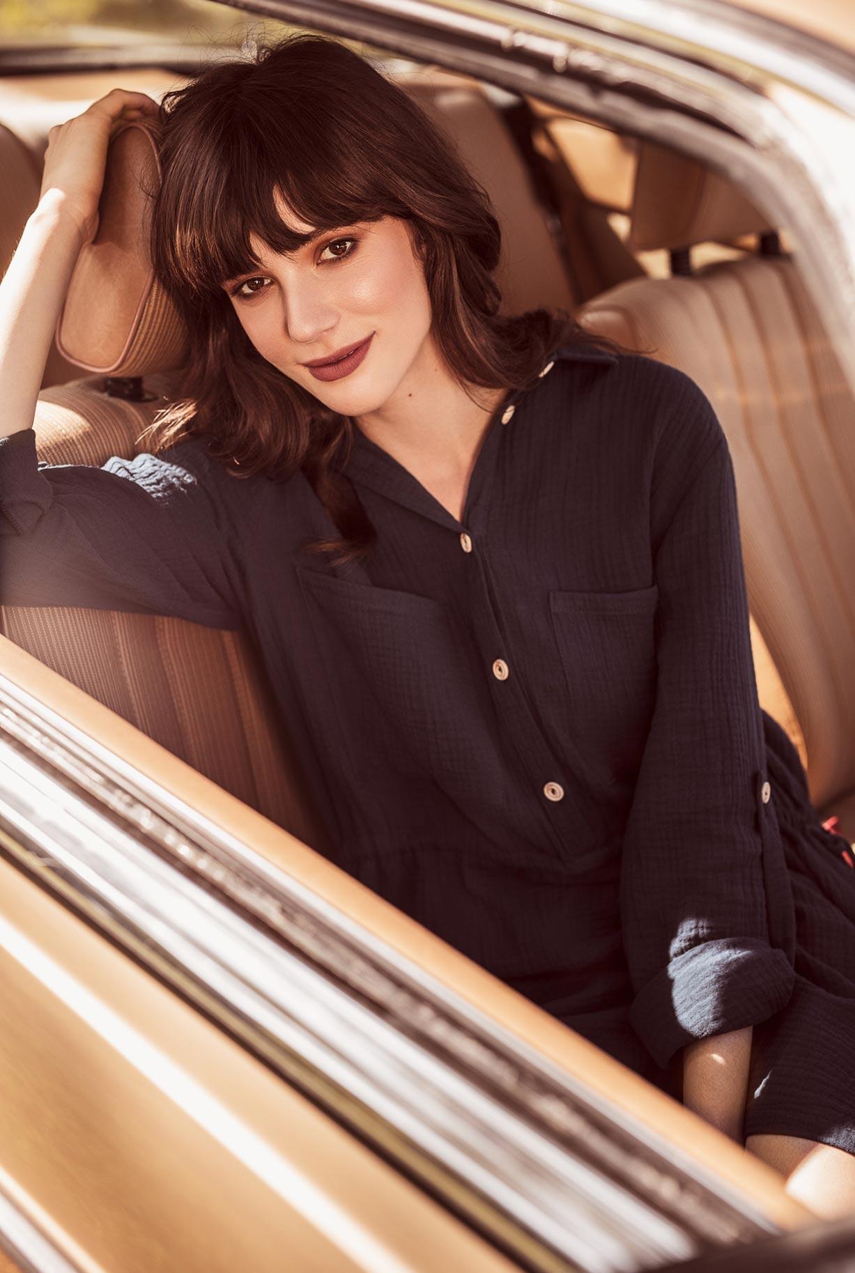 рекламная кампания женской одежды модного бренда So Me Len Welna / фото 05