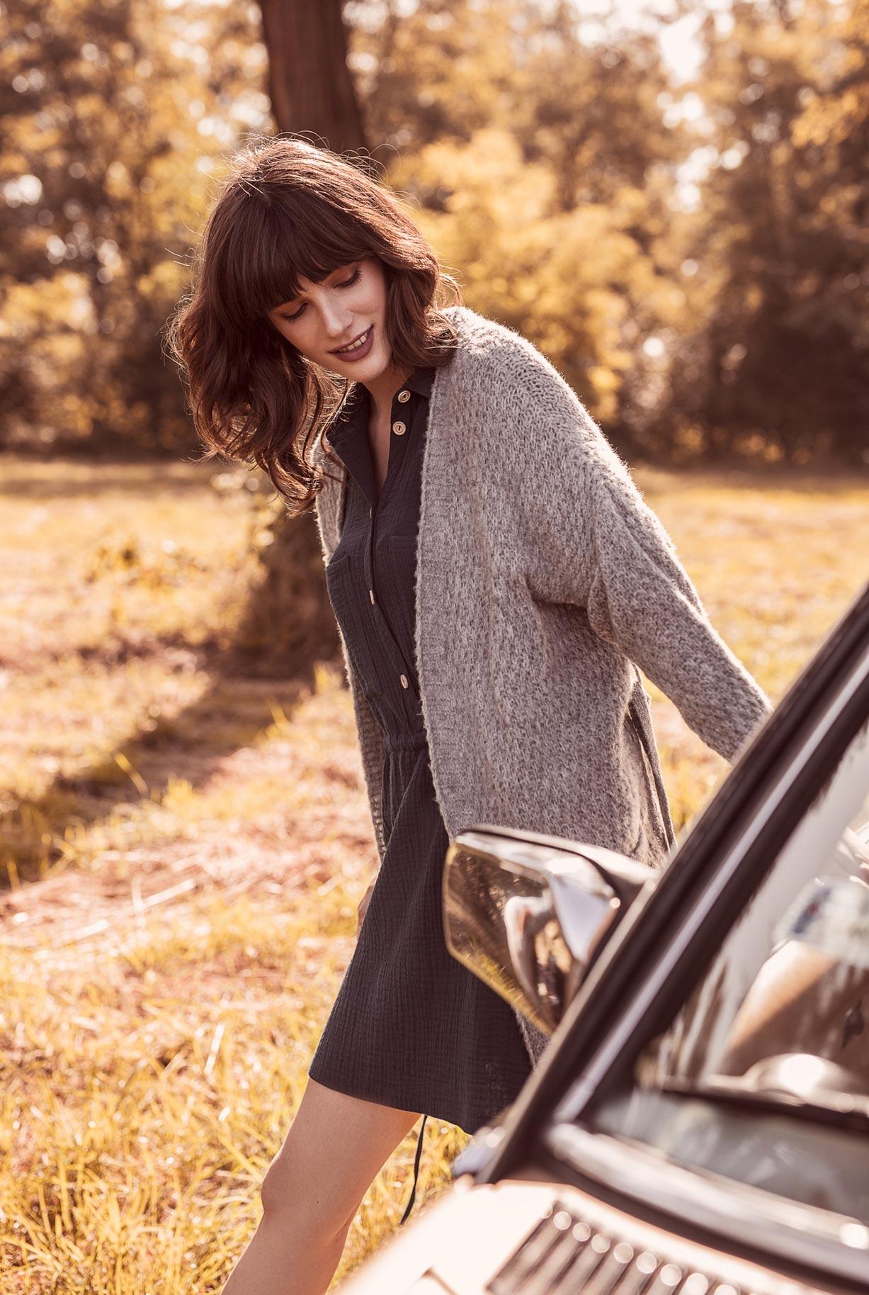 рекламная кампания женской одежды модного бренда So Me Len Welna / фото 08