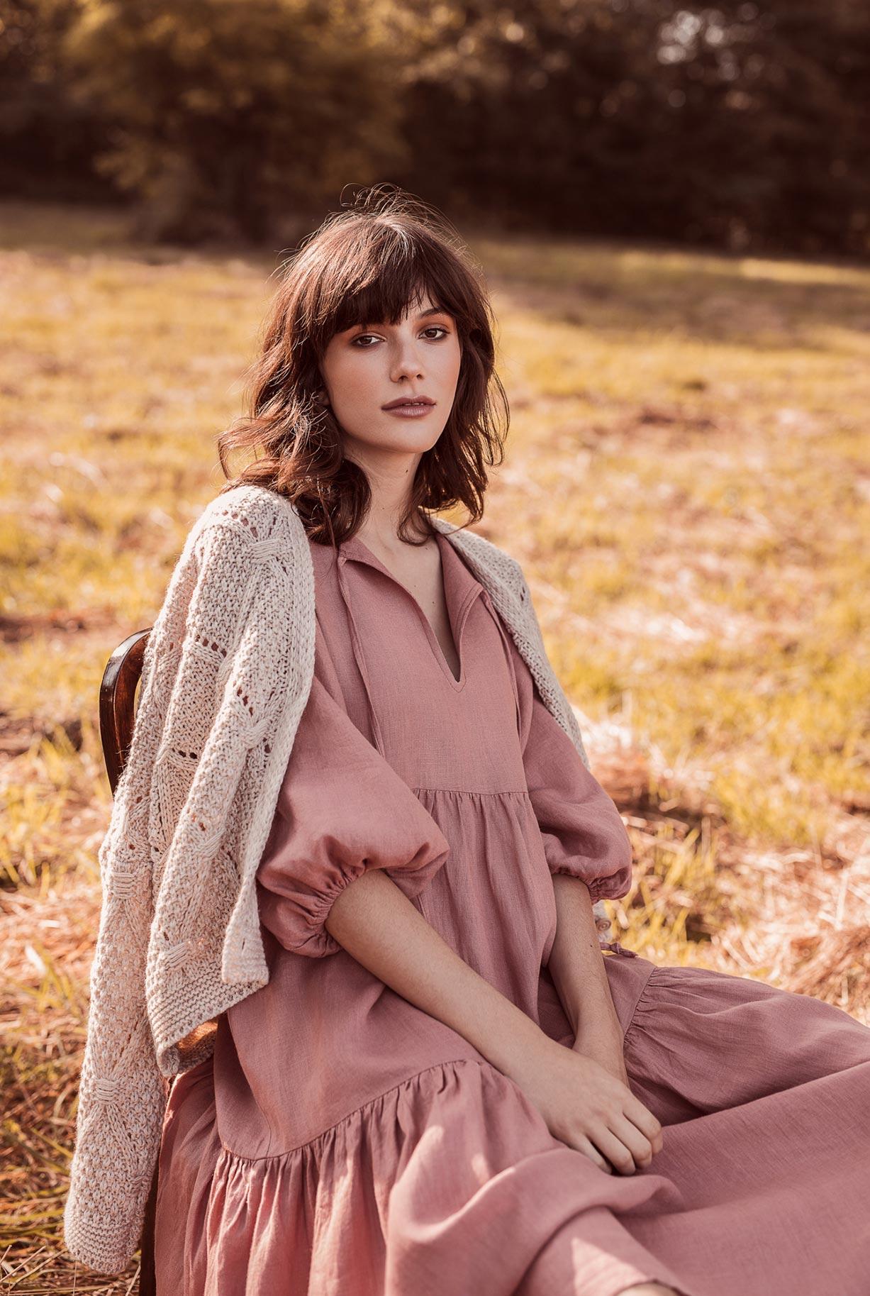 рекламная кампания женской одежды модного бренда So Me Len Welna / фото 09