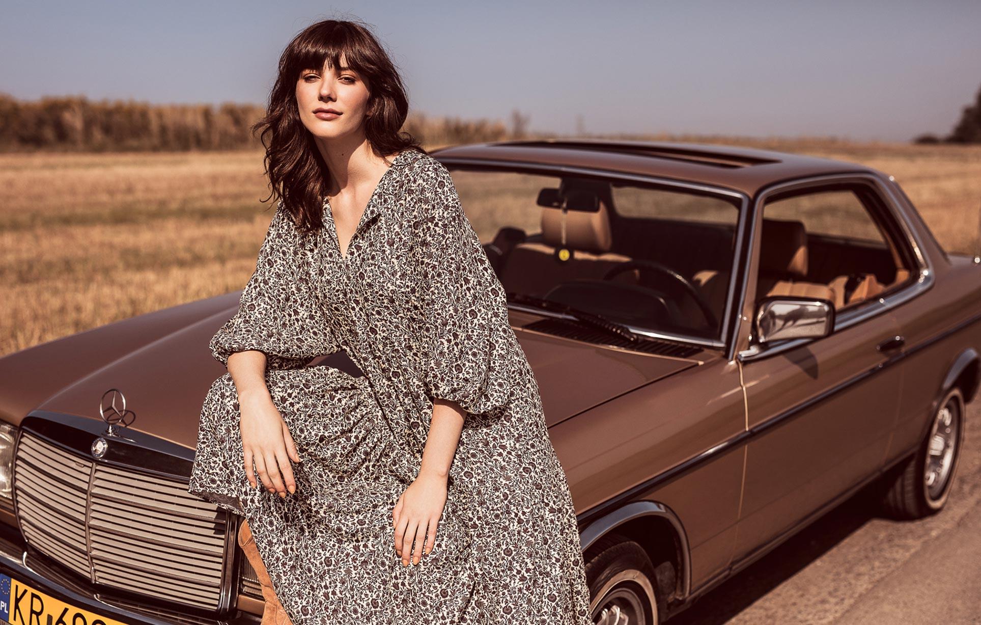 рекламная кампания женской одежды модного бренда So Me Len Welna / фото 13