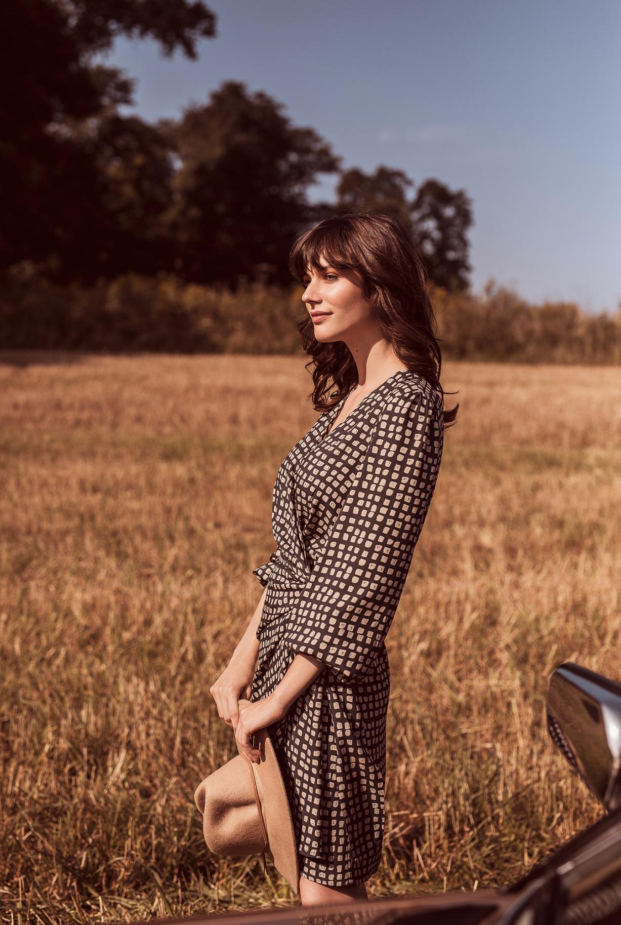рекламная кампания женской одежды модного бренда So Me Len Welna / фото 15