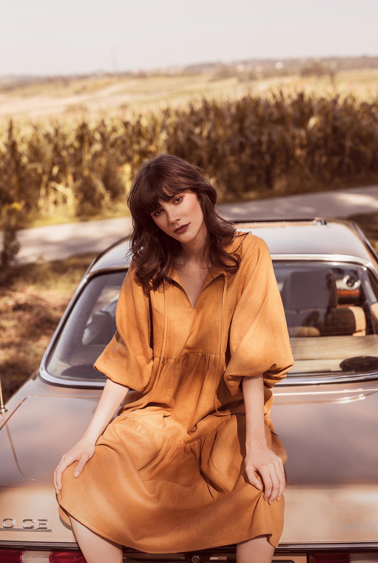 рекламная кампания женской одежды модного бренда So Me Len Welna / фото 17