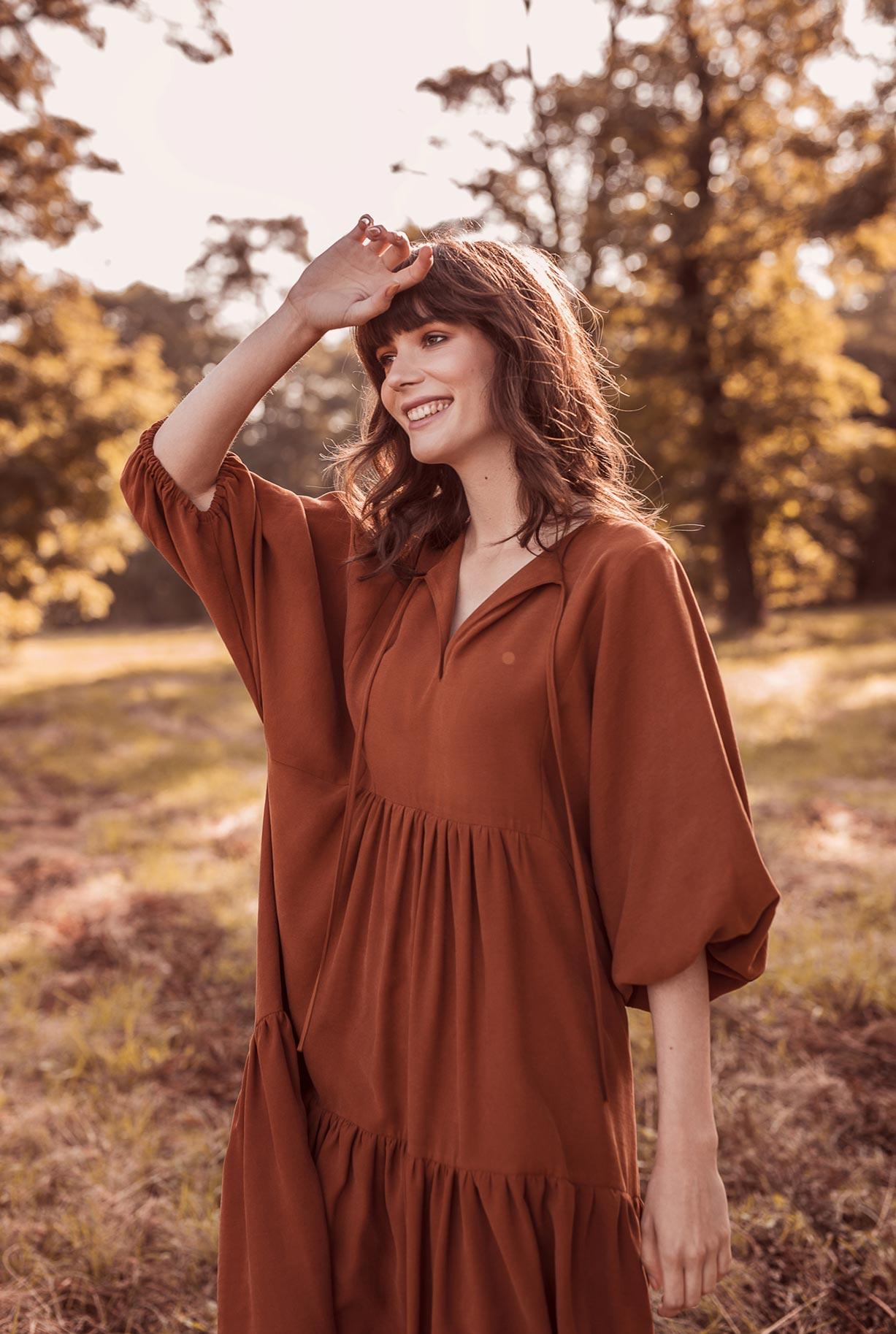 рекламная кампания женской одежды модного бренда So Me Len Welna / фото 18
