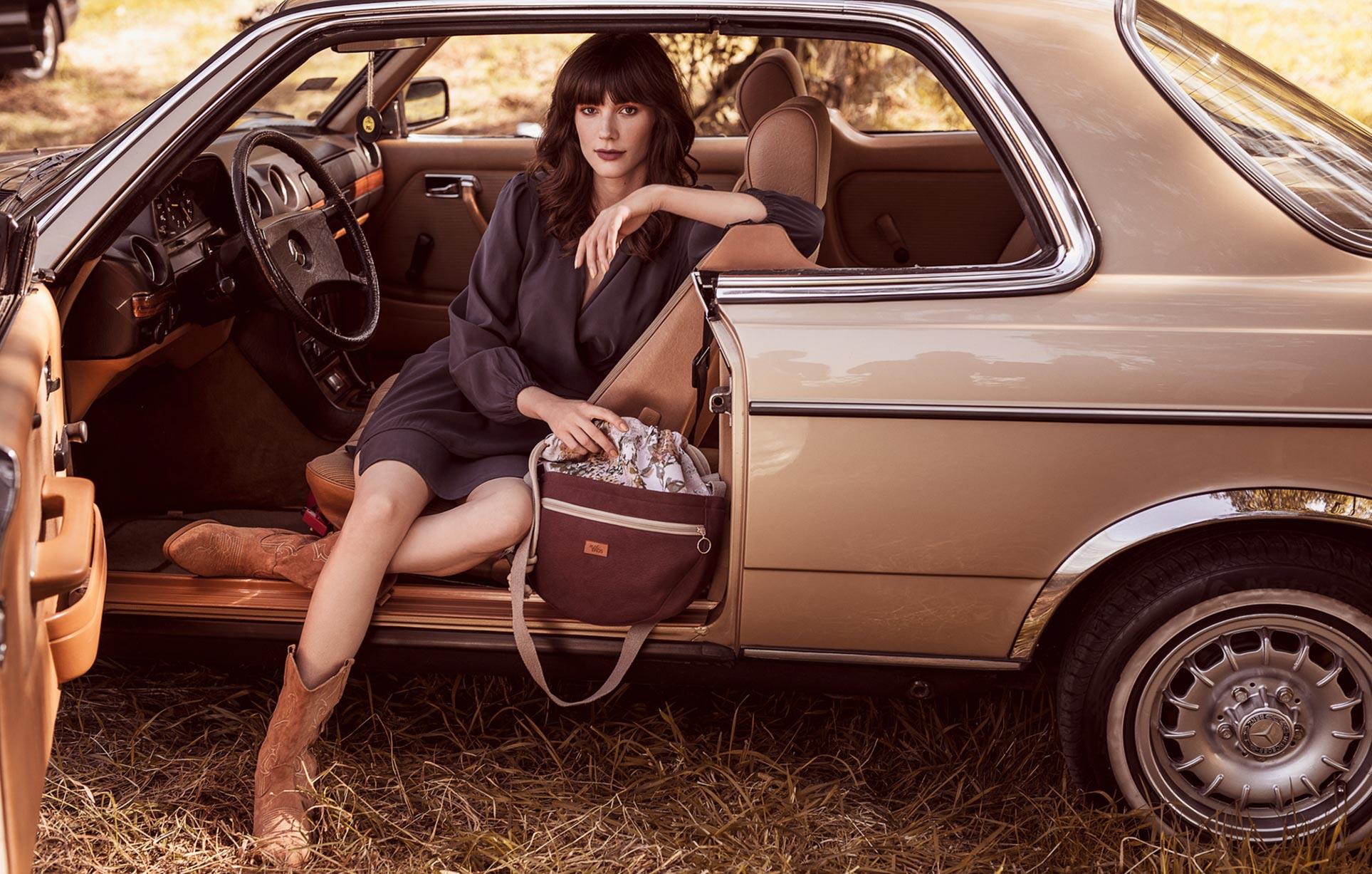 рекламная кампания женской одежды модного бренда So Me Len Welna / фото 19