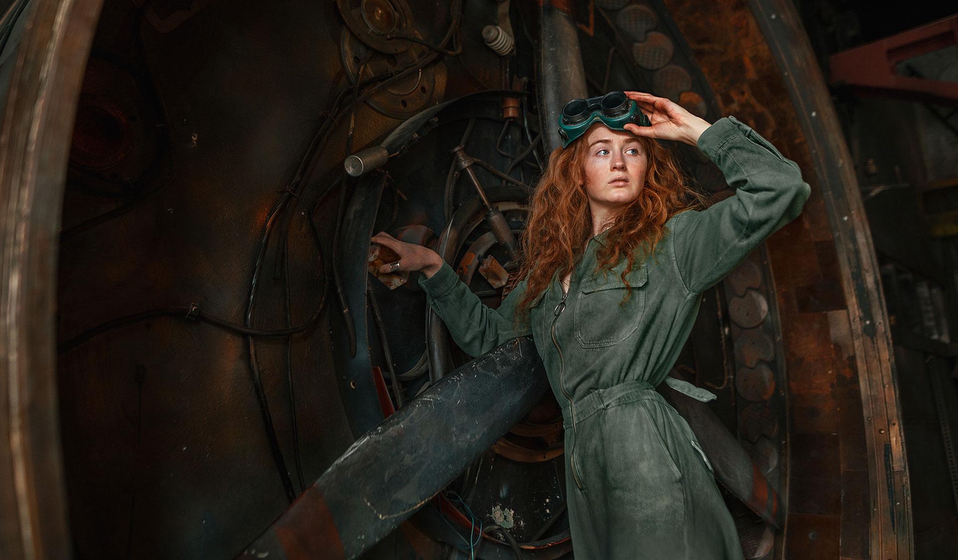 -фабричная девушка- Ксения Крюкова / фото 05