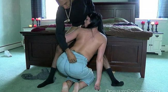 PrivateSociety.com: Her Backdoor Is Open For Biz Starring: Amber