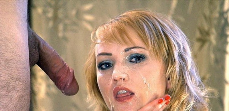 LiLu - Licking the Tip of the Penis   Huge Ruined Facial [I JERK OFF 100 Strangers hommme HJ / HD 720p]