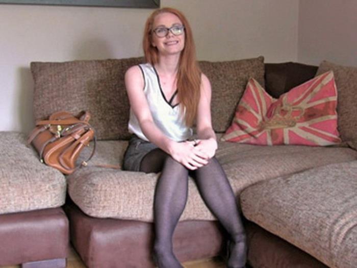 FakeAgentUK.com FakeHub.com: Unexpected Creampie for Sexy Redhead Starring: Ella Hughes