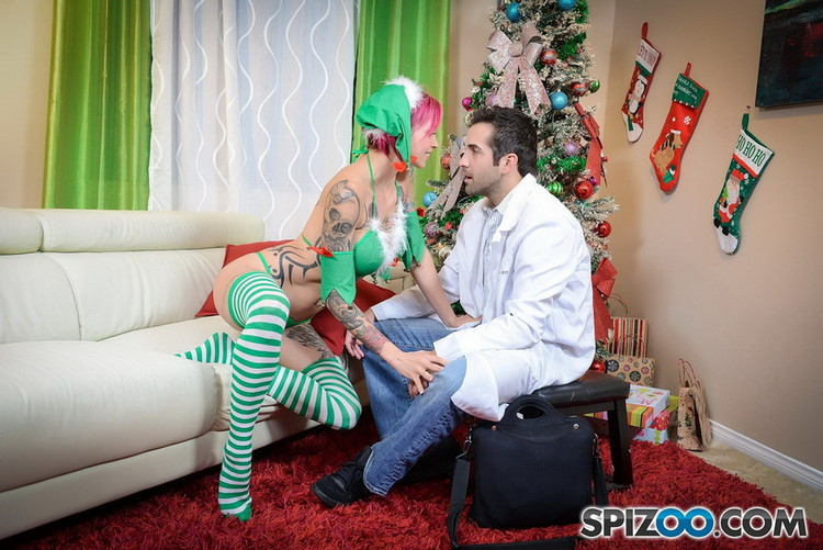 Spizoo - Anna Bell Peaks - Anna Bell Peaks Crazy Christmas [FullHD 1080p]