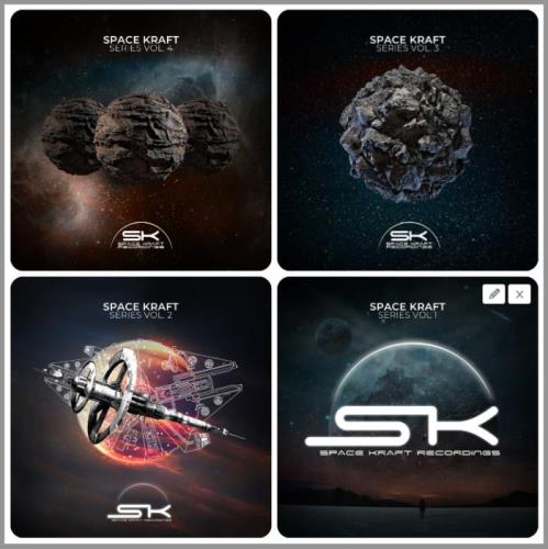 Space Kraft Series,  Vol. 1-4 (2020-2021)