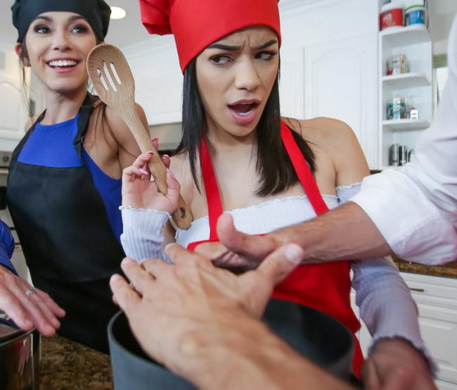 Gianna Gem - Culinary Cock Cuties (2021 TeamSkeet.com DaughterSwap.com) [HD   720p  1.3 Gb]
