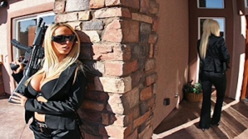 PornstarsLikeitBig.com / Brazzers.com: Nikki Benz, Puma Swede, Jordan Ash - Babes In Black [SD 320p] (271 MB) - February 25, 2008