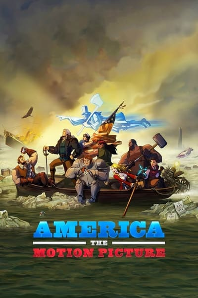 America The Motion Picture 2021 720p WEBRip 800MB x264-GalaxyRG